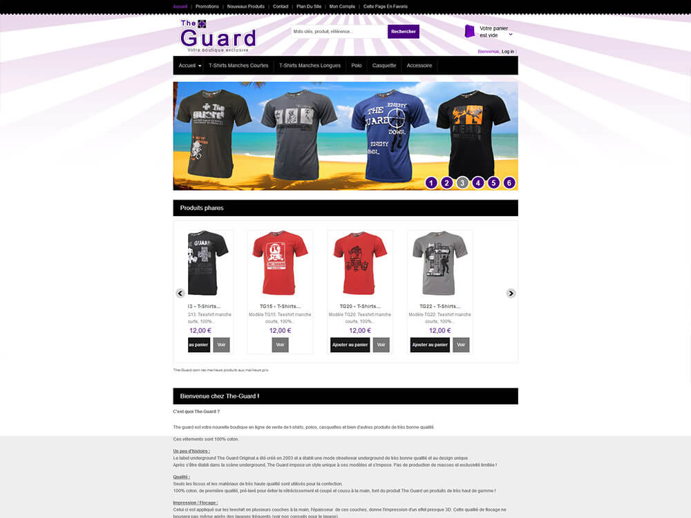 The Guard - Boutique Tee Shirts